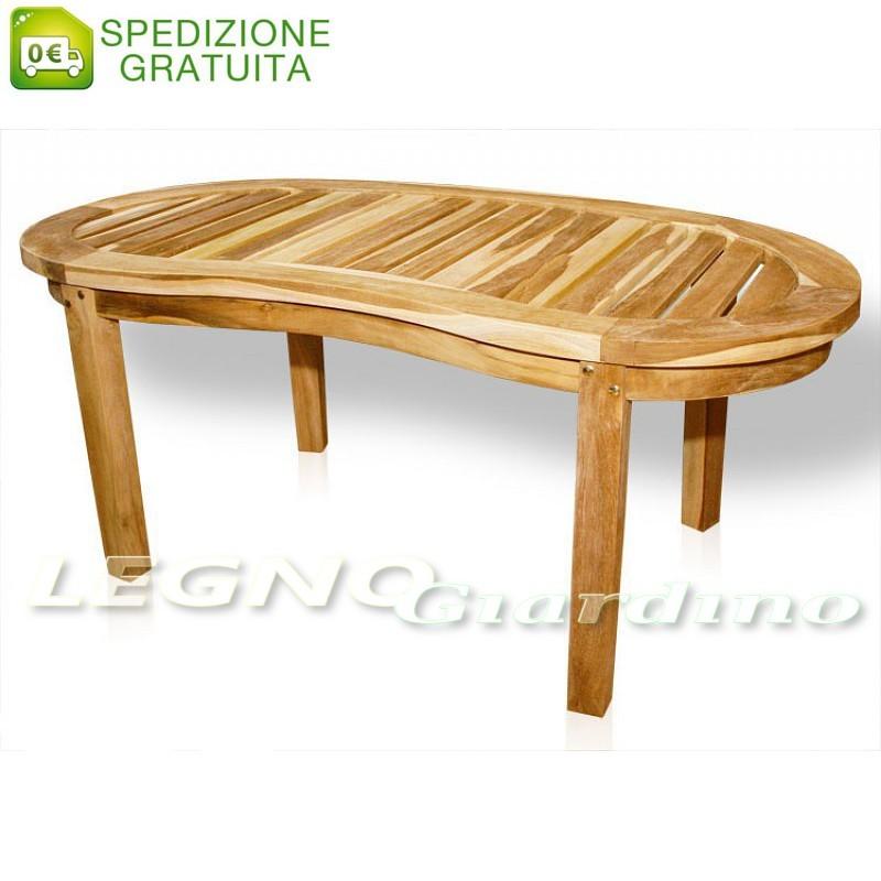 Tavolo in legno Teak modello Banana